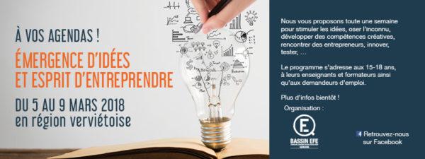 Objectifs du projet Emergences d'Idées à Verviers