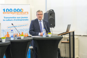 Inauguration de la table-ronde de Namur par le Ministre Pierre-Yves Jeholet